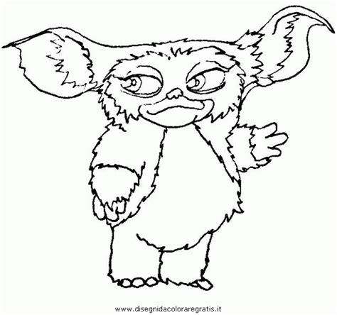 Gizmo Kleurplaat by Gremlins Coloring Pages Coloring Home