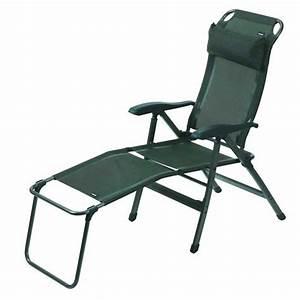 Fauteuil Repose Pied : fauteuil de camping repose pied pour fauteuil en alu cedre trigano ~ Teatrodelosmanantiales.com Idées de Décoration