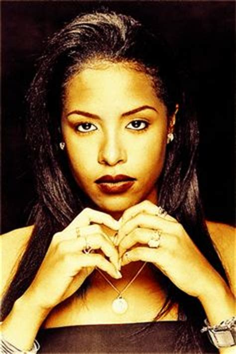 aaliyah with real hair and their real hair