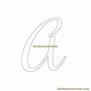 7 best images of free printable letter stencils cut out v With letters templates cut out