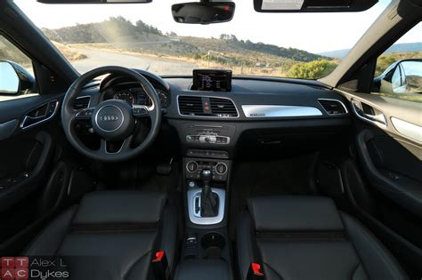 audi q3 dashboard 2016 audi q3 quattro review new to you utility w video