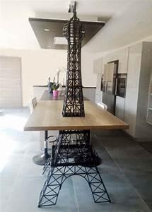 Tour Eiffel Deco : tour eiffel g ante en fer galvanis d coration originale ext rieure innovmania ~ Teatrodelosmanantiales.com Idées de Décoration
