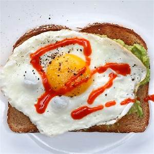 Spicy Fried Egg Avocado Toast Recipe by Tasty