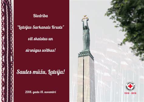 Sveicam svētkos! - LATVIJAS SARKANAIS KRUSTS