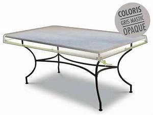 Housse Table De Jardin : housse de protection table rectangle 210 x100 x 10 cm luxe jardideco ~ Teatrodelosmanantiales.com Idées de Décoration