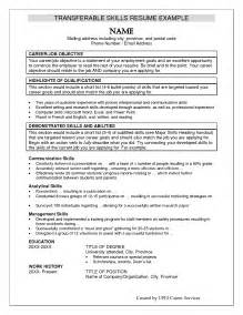 Resume Skills Verbiage by Wording For Resume Skills And Qualifications Bongdaao
