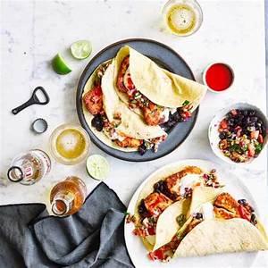 Recette Tacos Mexicain : crusted halloumi tacos with pico de gallo recette ~ Farleysfitness.com Idées de Décoration