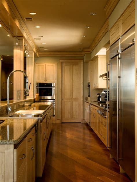 galley kitchen lighting houzz