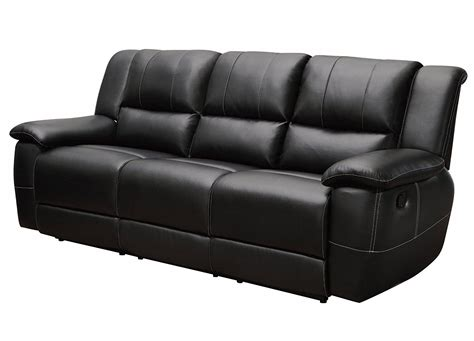 small black leather couch home furniture design