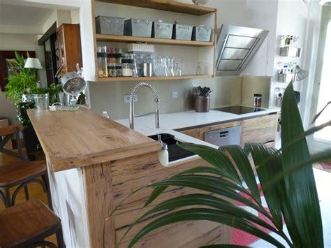 cuisines provencales fabricant cuisiniste avignon 84 cuisine en chêne plan travail