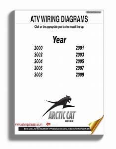 Arctic Cat 2000 Thru 2009 Atv And Snowmobilesnow Wiring