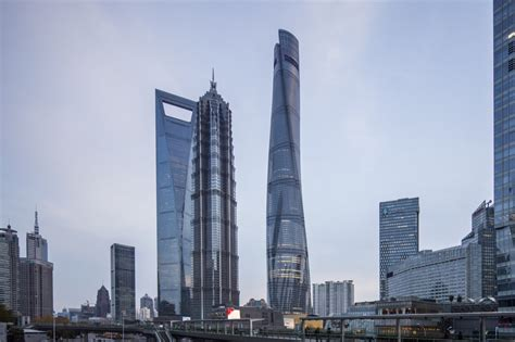 Shanghai Tower Gensler Archdaily