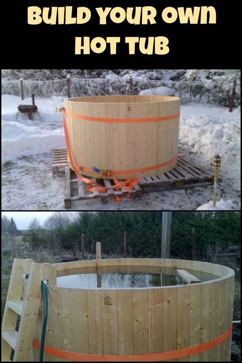 build   hot tub hot tub backyard outdoor baths pergola