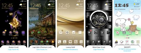 Best Themes Samsung Showcases The Best Themes Of 2016 Sammobile