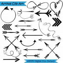 Tribal Heart Arrow Clip Art