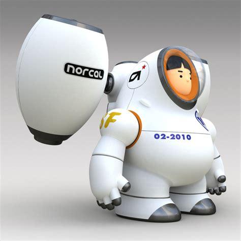 contemporary character design  robots  orlando