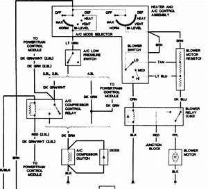 2000 Chevy S10 Blower Motor Wiring Diagram