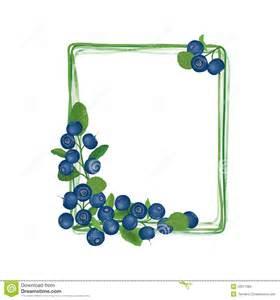 Blueberry Border Clip Art Free