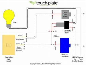 Light Switch Touch Wiring Diagram For