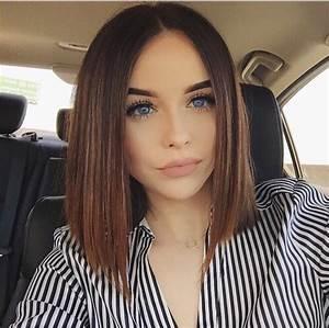 beautiful, girl, hair, blue eyes, selfie, lips, brown hair ...