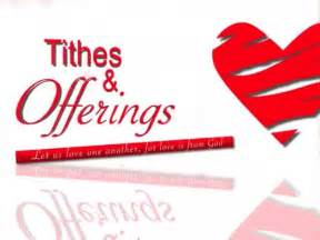 Tithes and Offering Graphics