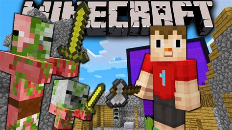 minecraft villager skin zombie pigmen change mob update down ai bountiful doors