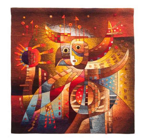 Tapisserie De Lurçat by Tapestry Flying Fertile Land By Maximo