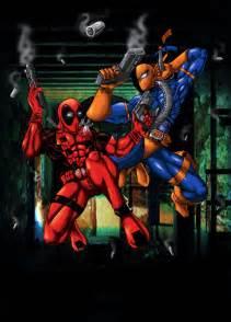 Deadpool vs Deathstroke by Heloz77 on DeviantArt