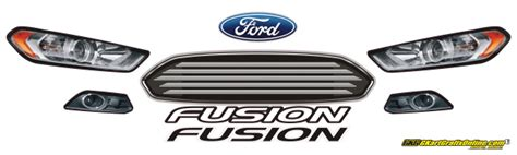 2013 ford fusion headlight kit