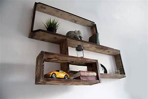 étagère D Angle Murale : etagere murale bathma yvar design mobilier ecodesign ~ Dailycaller-alerts.com Idées de Décoration