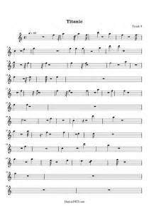 Titanic Theme Song Sheet Music For Recorder - Website of