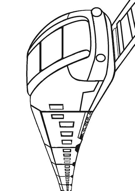 disegni  treni da colorare pianetabambiniit