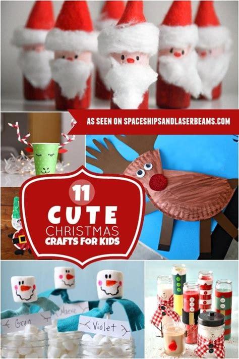 homemade christmas ornaments kids   spaceships