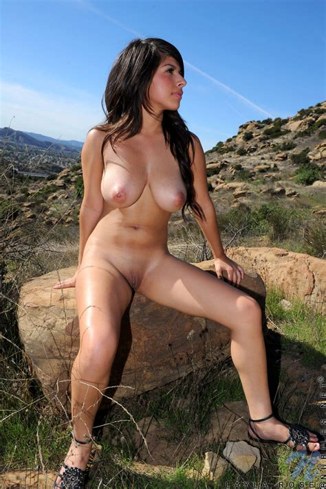 Featuring Nubiles Layla Rose In Bustybabeoutdoor