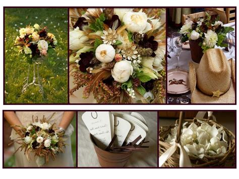 wedding ideas cozy western themed wedding decorations pics design ideas