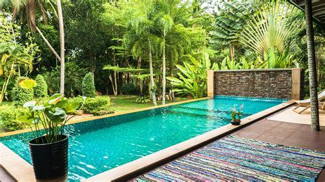 kitchen island seats 6 luxury villa with swimming pool for rent kohphangan org