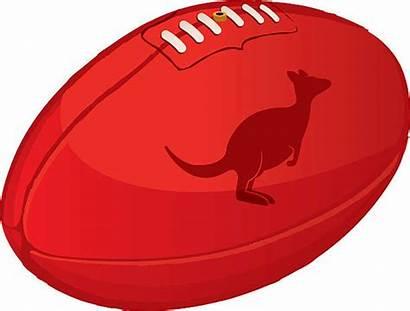 Football Australian Rules Afl Vector Aussie Illustrations