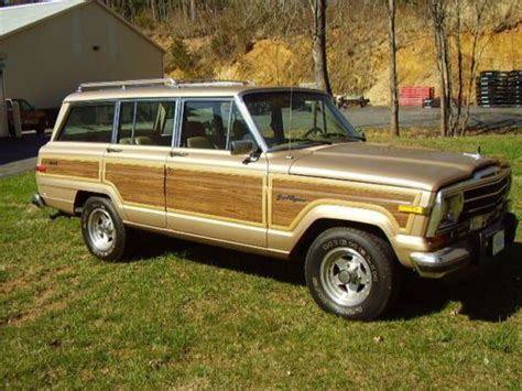 jeep wagoneer 1990 sell used jeep grand wagoneer 1990 low mileage in