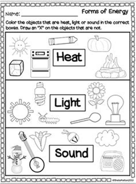 14 Best Images of Types Of Energy Worksheet Elementary ...