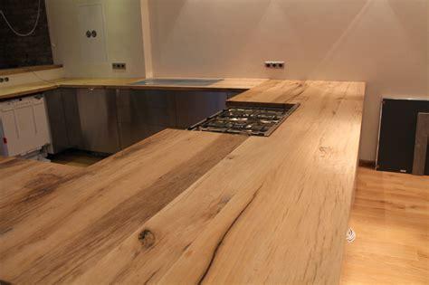 Arbeitsplatte Kuche Holz Eiche Bvraocom