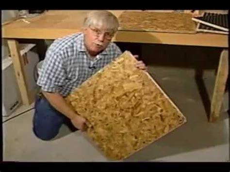 how to install osb subfloor basement osb subfloor youtube