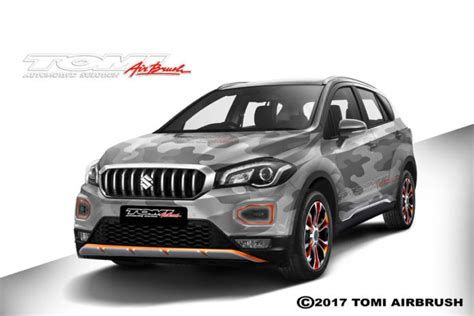 Modifikasi Suzuki Sx4 S Cross modifikasi new suzuki sx4 s cross ala tomi