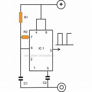 how to make a simple ic 555 pwm circuit With 555 astable circuit