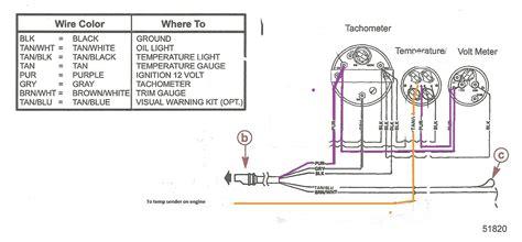 suzuki outboard gauage wiring diagram