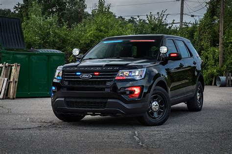 Ford Utility by The 2017 Ford Interceptor Utility Is Going Stealth