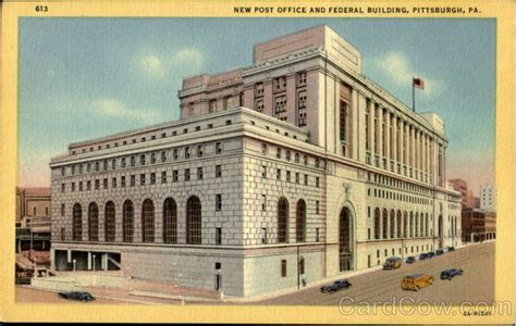 New Post Office And Federal Building Pittsburgh, Pa