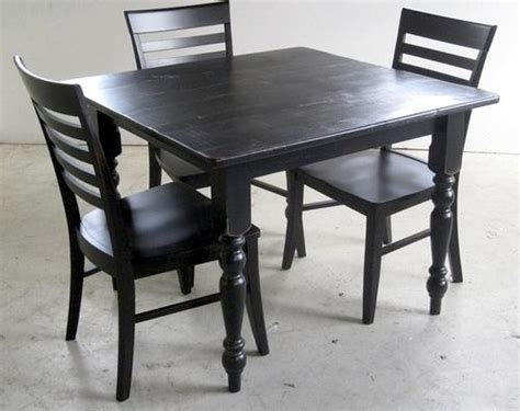 black mission style dining chair farmhouse dining