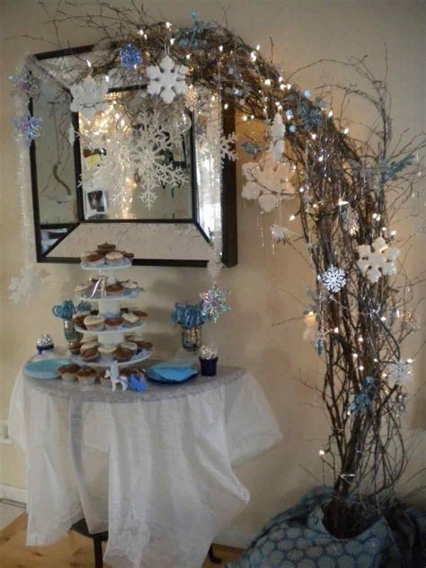 decorating a ideas interior winter wonderland house decorating ideas design fresh white themed decorations cultural