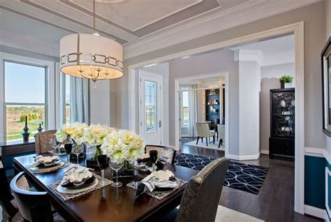Home Interior Pictures by Model Home Interiors Trim In Ceiling Shelves In Living