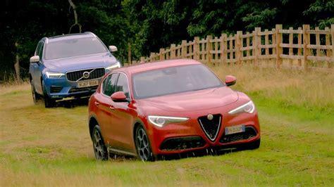 Top Gear Alfa Romeo Challenge by Alfa Romeo Stelvio Vs Volvo Xc60 Top Gear Series 25